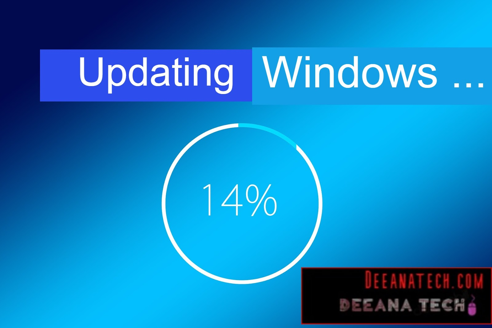 Windows updating _ Pc Hang Problems Solve, Common Computer Problems & Solutions- deeanatech.com