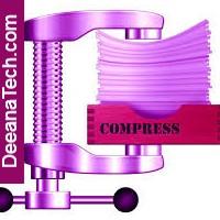 File compression.