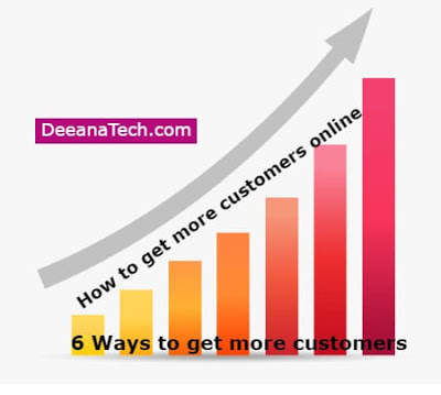 How to Get More Customers Online